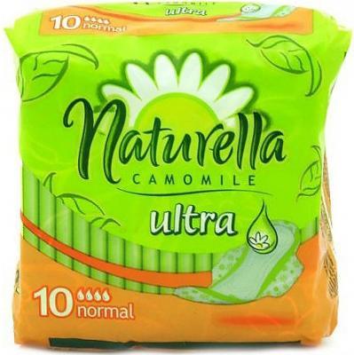 Прокладки впитывающие Naturella Ultra - Camomile Normal Single 10 шт