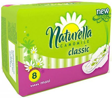 Прокладки впитывающие Naturella Classic - Camomile Maxi Single 8 шт NT-83716408S