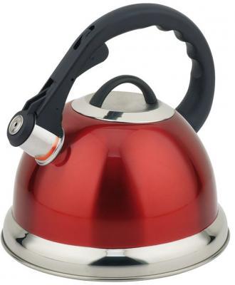 Чайник Teco TC-115-R чёрный красный 3 л нержавеющая сталь чайник kitchenaid kten20sbob чёрный 1 9 л нержавеющая сталь