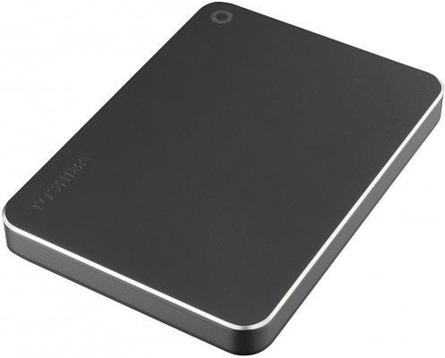 "Внешний жесткий диск 2.5"" USB 3.0 1Tb Toshiba Canvio Premium серый HDTW210EB3AA"