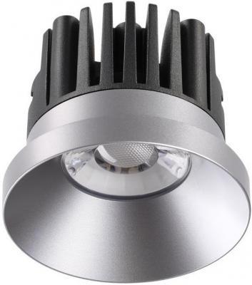 Встраиваемый светодиодный светильник Novotech Metis 357587 novotech 357590 nt18 000 никель встраиваемый светодиодный светильник 10w 100 265v metis