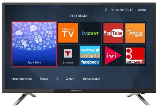 Телевизор Thomson T28RTL5030 черный телевизор thomson t24e20dh черный