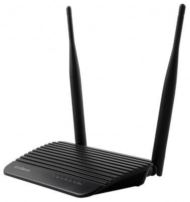 Беспроводной маршрутизатор Edimax BR-6428NS V4 802.11bgn 300Mbps 2.4 ГГц 4xLAN черный паронепроницаемая двухслойная пленка изоспан в 70м2