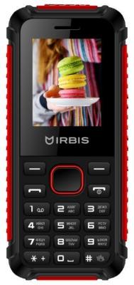 Телефон Irbis SF17 черный красный сотовый телефон irbis sf54 black red