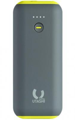 Внешний аккумулятор Power Bank 5000 мАч Smart Buy UTASHI A 5000 (SBPB-715) серый зеленый
