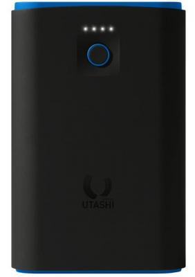 Внешний аккумулятор Power Bank 7500 мАч Smart Buy Utashi X 7500 черный голубой