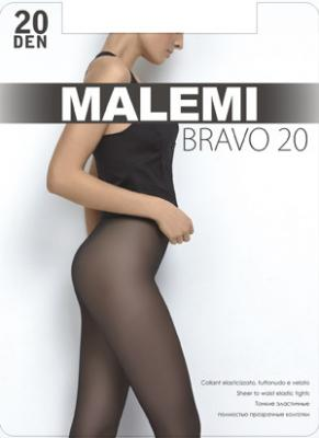 Колготки Malemi Bravo 2 20 den черный колготки 20 den коньяк argentovivo колготки 20 den коньяк