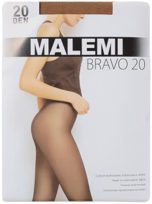 Колготки Malemi Bravo 4 20 den светло-коричневый колготки 20 den коньяк argentovivo колготки 20 den коньяк