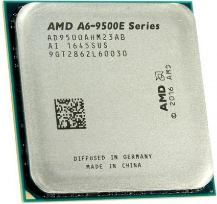 Процессор AMD A6 9500E AD9500AHM23AB Socket AM4 OEM процессор amd a8 7500 3 0ghz 2mb ad7500ybi44ja socket fm2 oem