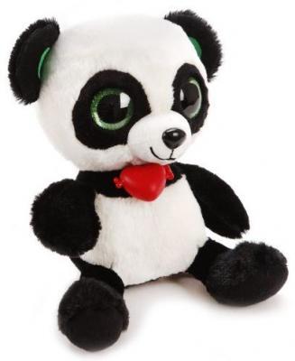 Мягкая игрушка панда Фэнси Глазастик Панда искусственный мех черный белый GPA0\\S мягкая игрушка панда fluffy family крошка панда 30 см белый черный бежевый текстиль искусственный мех пластик 681241