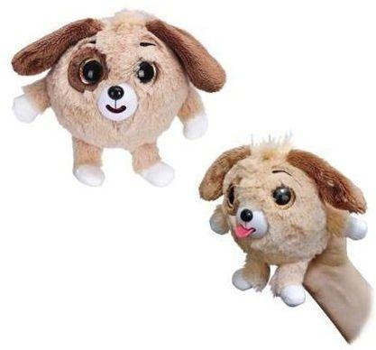 Мягкая игрушка Дразнюка-Zooка Собачка оранж.13 см мягкая игрушка интерактивная 1 toy дразнюка zooка собачка коричневая
