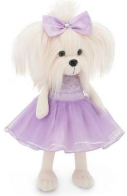 Купить Мягкая игрушка Мальтезе Mimi Сирень 25, ORANGE, белый, фиолетовый, 25 см, искусственный мех, Животные