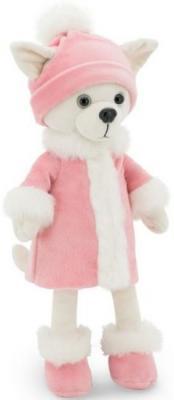 Купить Мягкая игрушка Чихуа Lili Зимняя нежность 25, ORANGE, белый, розовый, 25 см, текстиль, Животные