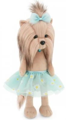 Купить Мягкая игрушка Йорк Yoyo Ромашка 25, ORANGE, бежевый, голубой, 25 см, искусственный мех, Животные