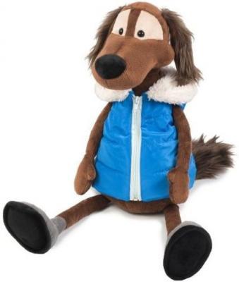 Мягкая Игрушка Пес Шерлок в Жилетке 28 см цена