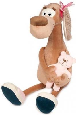 Мягкая Игрушка Собачка Мила с Мишкой 23 см