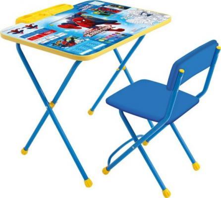 Набор мебели Marvel 2-Человек паук (стол+стул мягк) набор мебели ника фиксики знайка ф13