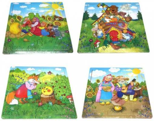 Купить Пазл Наша Игрушка Русские сказки 635749, Пазлы-картины