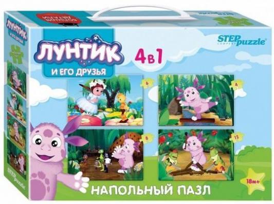Купить Пазл 12 элементов Степ Лунтик 70153, Пазлы для малышей