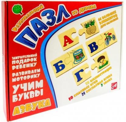 Пазл Анданте Азбука 66 элементов Д566а анданте бубенцы цвет синий