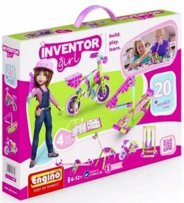 Конструктор ENGINO Набор из 20 моделей для девочек IG20 конструктор engino qboidz 20 в 1