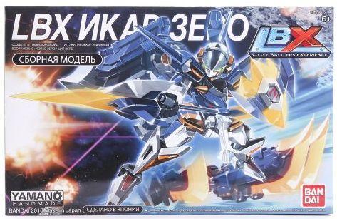 Конструктор BANDAI Икар Зеро 84862 bandai bandai lbx конструкторский набор охотник