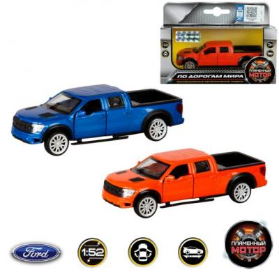Машина мет. 1:52 Ford F-150 SVT Raptor, откр.двери, 12см svt 90x120