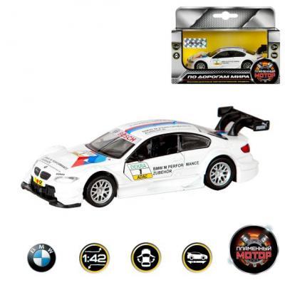Автомобиль Пламенный мотор BMW M3 DTM белый 12 см 870227 dtm 1207