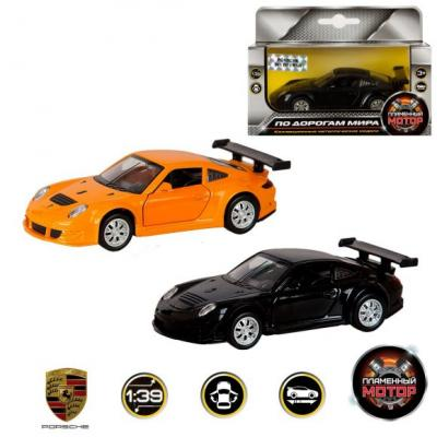 Машина мет. 1:39 Porsche GT3 RSR, откр.двери, цвета в ассорт., 12см цена