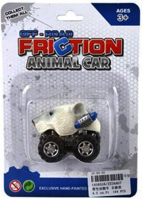 """Автомобиль Shantou Gepai """"Зверь"""" - Белый медведь белый ZZ34407"""
