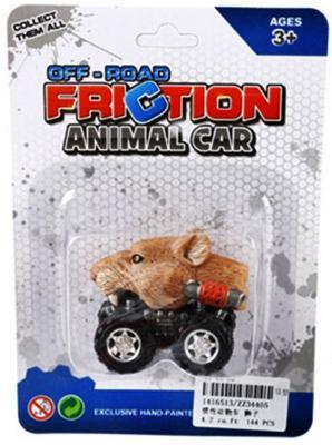 """Автомобиль Shantou Gepai """"Зверь"""" - Мышь коричневый ZZ34405"""
