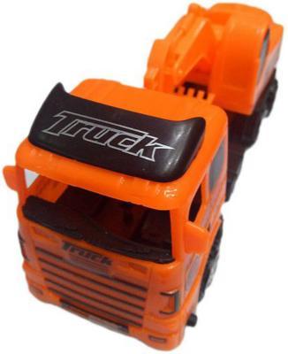 Грузовик Наша Игрушка Truck - Грузовик с ковшом оранжевый 635513