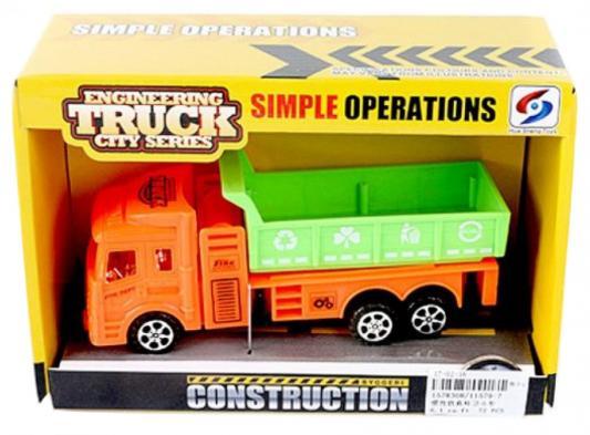 Грузовик Наша Игрушка 11579-7 разноцветный грузовик наша игрушка грузовик оранжевый 11579 1