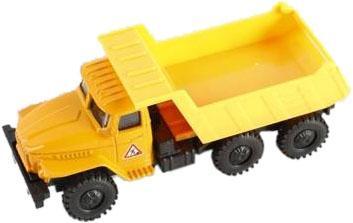 Купить Инерционная машинка Shantou Gepai Грузовик 1502A-13 желтый, Наша Игрушка, Детские модели машинок
