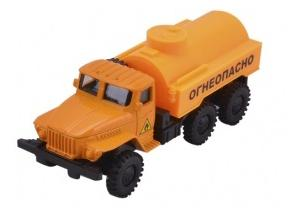 Автомобиль Наша Игрушка Бензовоз оранжевый игрушка
