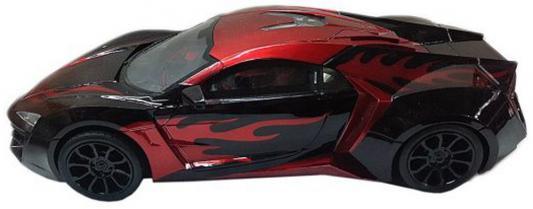 Автомобиль Наша Игрушка Спортивная черно-красный автомобиль наша игрушка автомаркет красный zya a2689 2