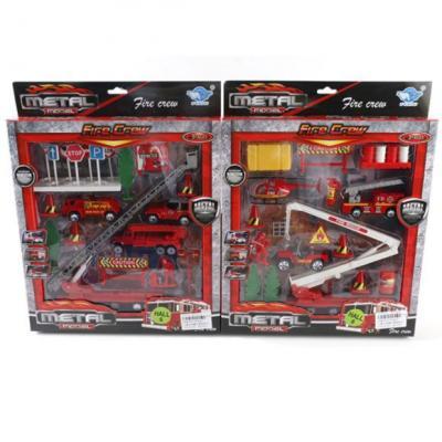 Набор Наша Игрушка Пожарная бригада разноцветный JP3203