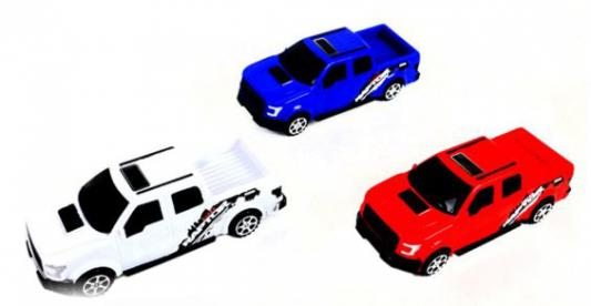 Инерционная машинка Shantou Gepai Пикап 858-1 цвет в ассортименте в ассортименте автомобиль полесье жук цвет в ассортименте в ассортименте 780