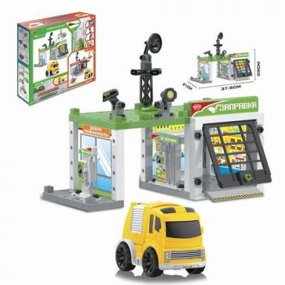 Игровой набор Наша Игрушка Автозаправочная станция разноцветный M7142 игровой набор наша игрушка автозаправочная станция разноцветный m7143