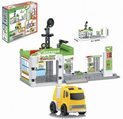 Игровой набор Наша Игрушка Автозаправочная станция разноцветный M7143 игровой набор наша игрушка автозаправочная станция разноцветный m7143