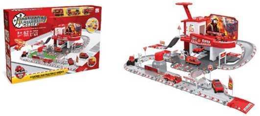 Машина Наша Игрушка Пожарная станция красный TH8549 игрушка