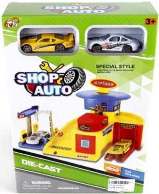 Игровой набор Наша Игрушка Автомобильный магазин цвет в ассортименте TH627 море чудес игровой набор грот русалочки в ассортименте