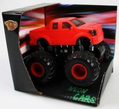 Автомобиль Наша Игрушка Неон красный 8395R-1