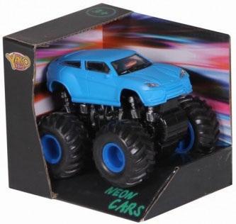 Инерционная машинка Наша Игрушка Неон синий 8395R-3 игрушка