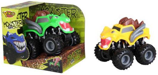 Инерционная машинка Наша Игрушка Монстры цвет в ассортименте 8403R-2 игрушка