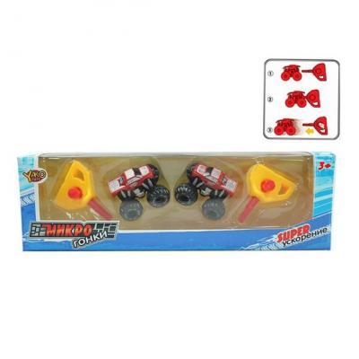 Набор Наша Игрушка Минигонки красный M6449