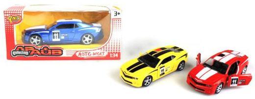 Фото - Инерционная машинка Наша Игрушка Машина 1:34 цвет в ассортименте M7062 yellow 5310 инерционная машинка мстители 1 16 3 шт в ассортименте