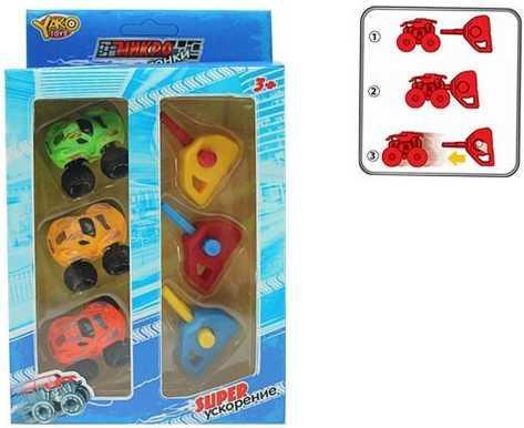 Купить Набор Наша Игрушка Минигонки разноцветный M6448, Детские модели машинок