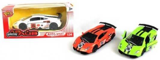 Автомобиль Наша Игрушка Машина 1:34 цвет в ассортименте M7063 автомобиль наша игрушка набор машин цвет в ассортименте 92753 25ps