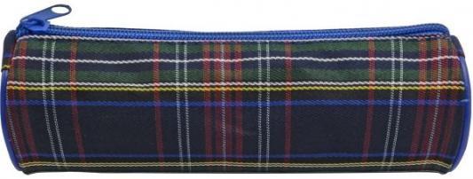 Купить Пенал тубус Action! Шотландка APC-4220/PL, текстиль, универсальные, Пеналы и папки
